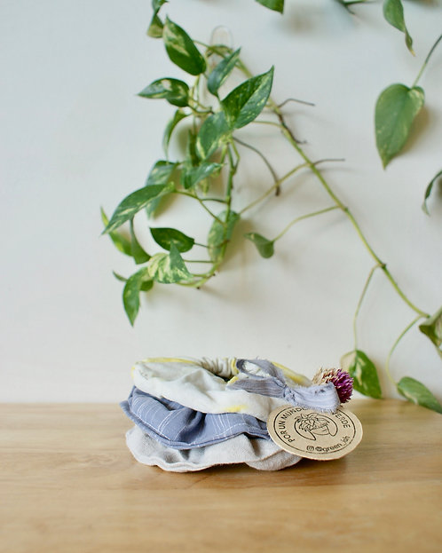 Eco scrunchie set #2