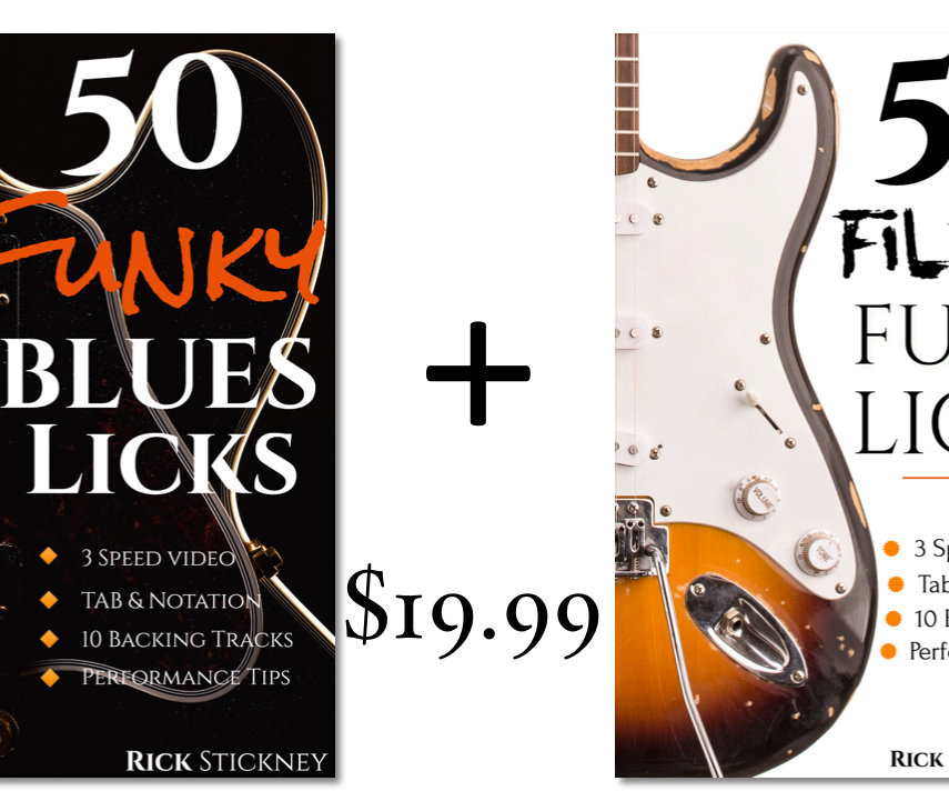50 Funky Blues + 50 Filthy Funk Licks Bundle