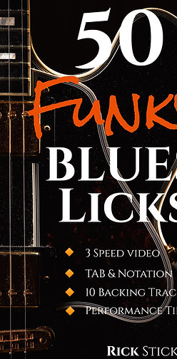 50 Funky Blues Licks eBook