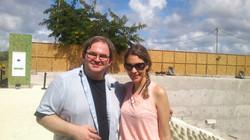 Com o Pianista David Gazarov