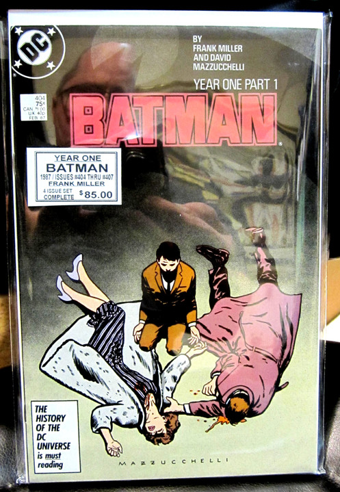 Batman Year One Comic Book