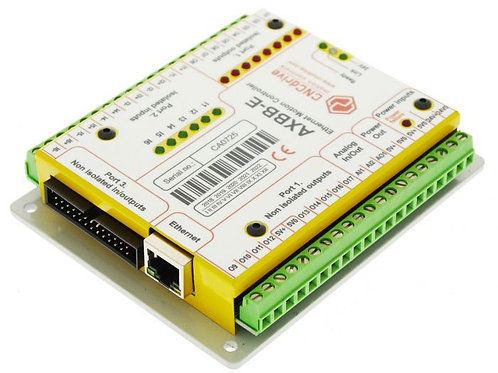 AXBB-E ethernet motion controller and breakout board