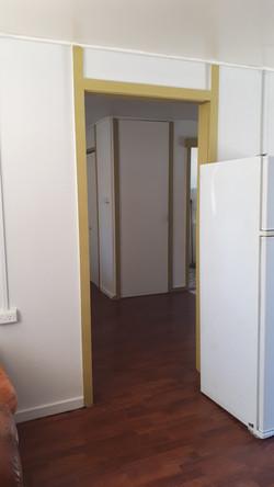 Door frames 54 55