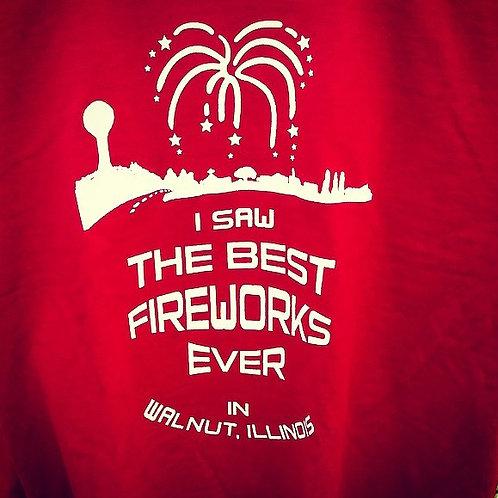 Walnut, Illinois Firework T-Shirts