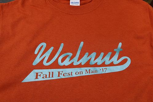 Walnut Fall Fest on Main 2017 Shirt