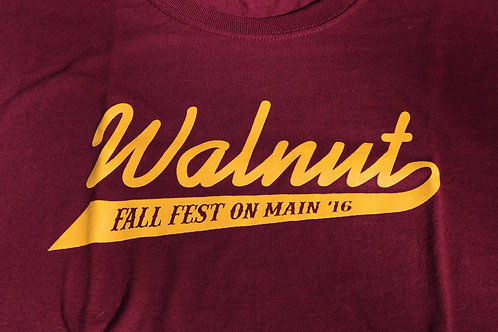 Walnut Fall Fest on Main 2016 Shirt