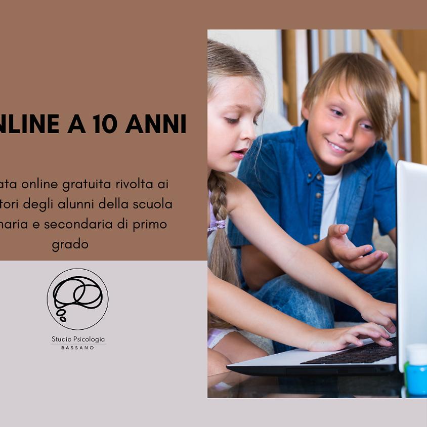 """Online a 10 anni"""