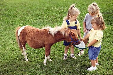 Kids with Pony