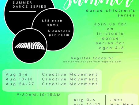 SUMMER DANCE CAMPS