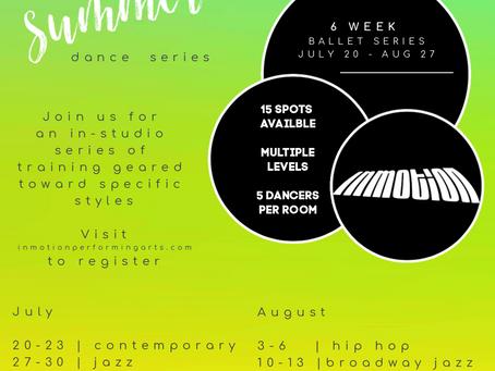 SUMMER DANCE SERIES