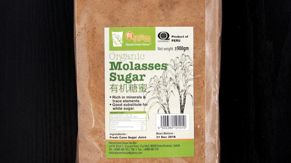 Organic Molasses Sugar 1 kg 有机黑糖蜜