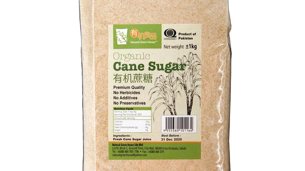 Organic Cane Sugar (1 kg) 有机庶糖 1公斤