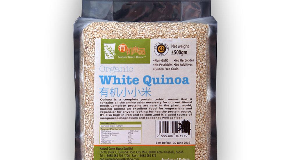 Organic White Quinoa 有机小小米