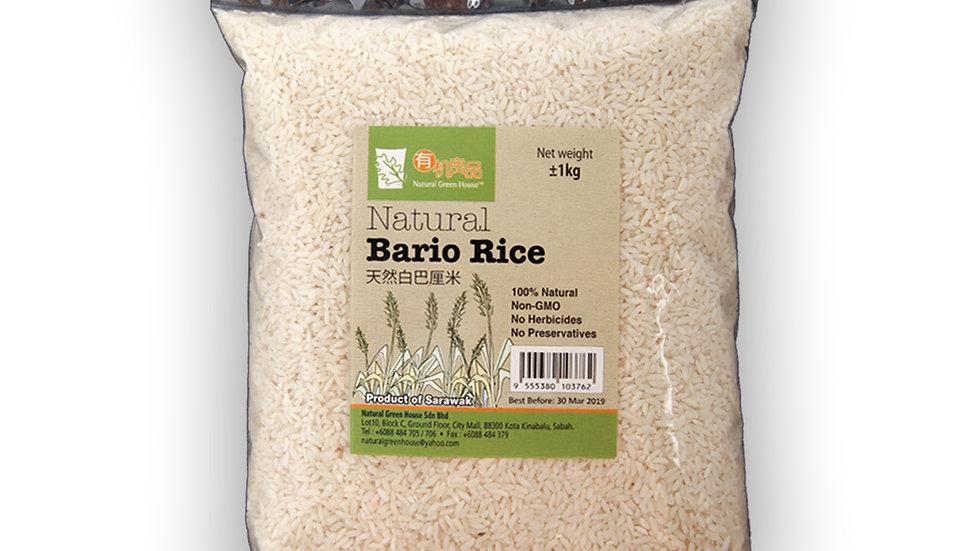 Natural Bario Rice (1 kg)天然白巴厘米 1公斤