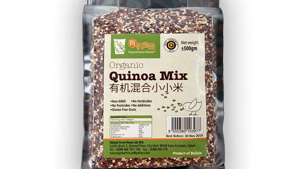 Organic Quinoa Mix 有机混合小小米