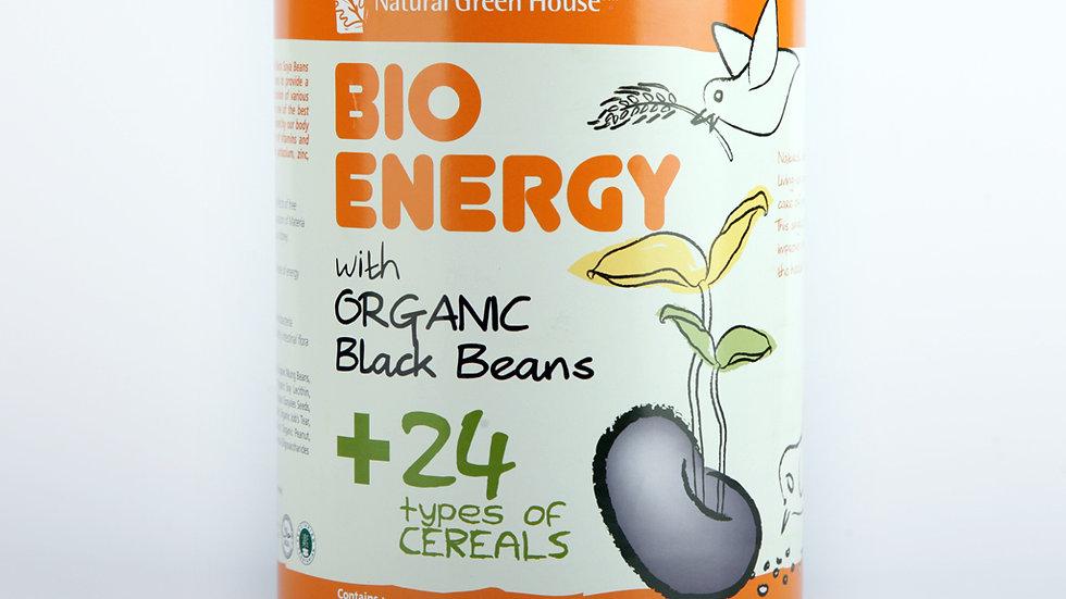 Bio Energy with Organic BlacK beans 800g Tin 有机24谷黑豆粉