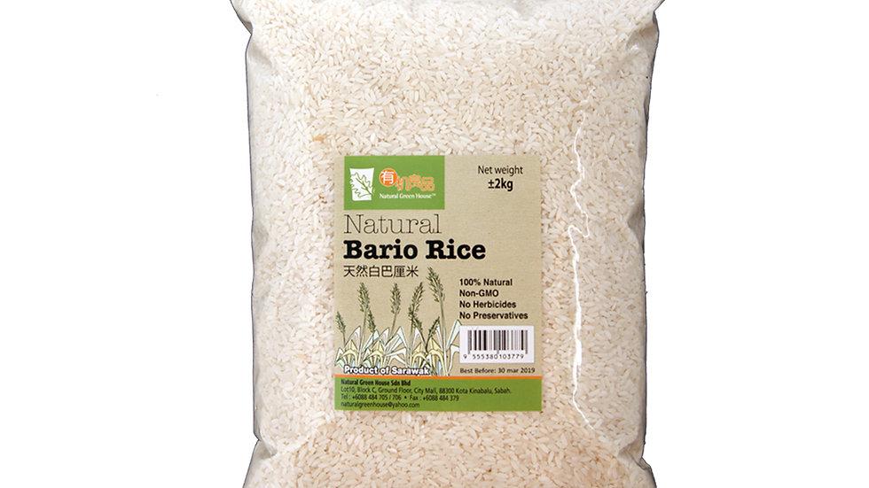 Natural Bario Rice (2kg) 天然白巴厘米 2公斤
