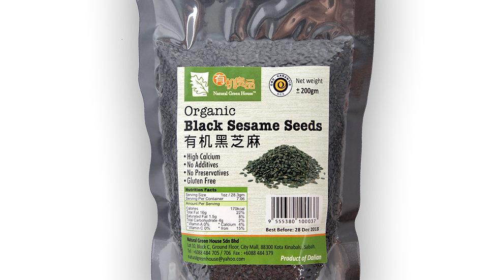 Organic Black Sesame Seeds 有机黑芝麻