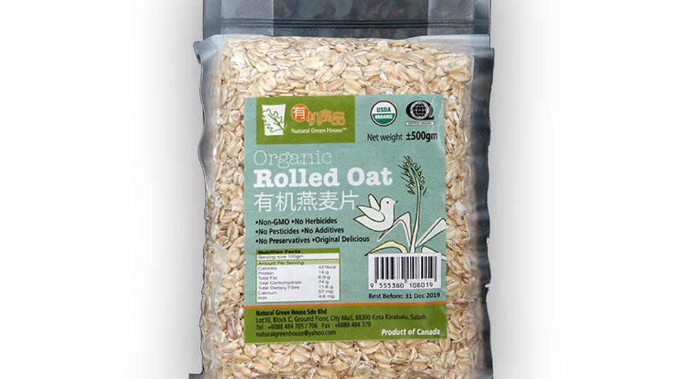 Organic Rolled Oat 有机燕麦片