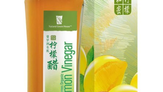 柠檬酵醋Borneo Organic Lemon Vinegar