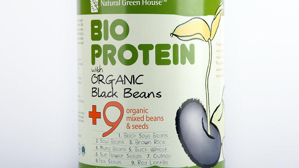 Bio Protein with Organic Black Beans 800 gm Tin 有机9色黑豆粉 800克