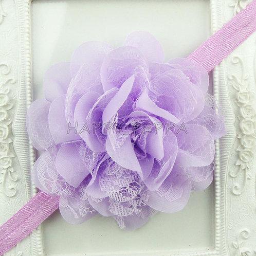 Fluffy Flower Headband