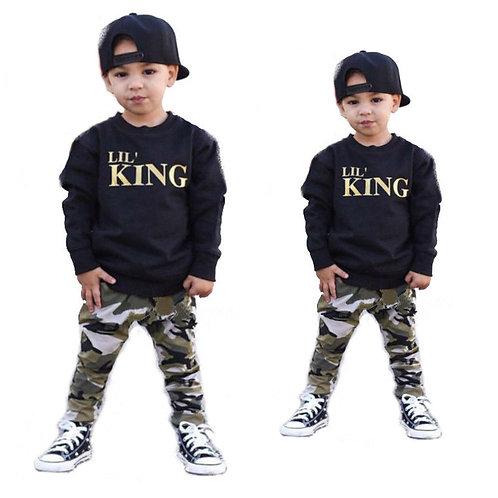 Lil King Jumpsuit 2pc Outfit