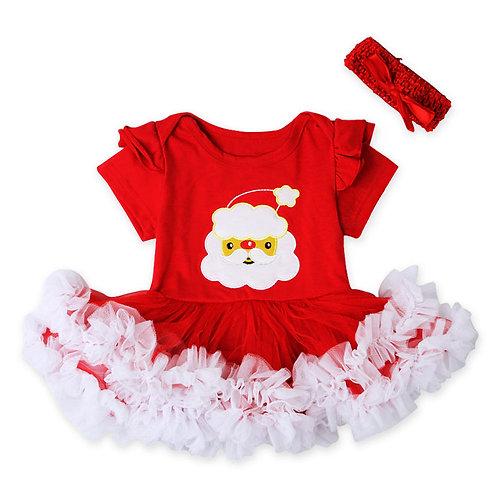 2-pc Santa Onesie Baby