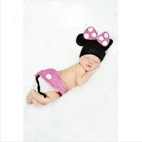 Mini Mouse Crochet Outfit Infant