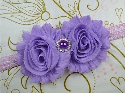Flower Rhinestone Rosett
