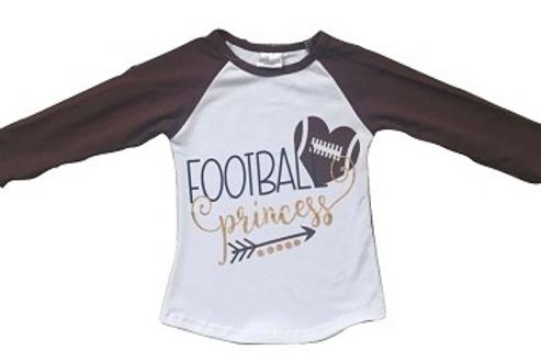 Football Princess Shirt