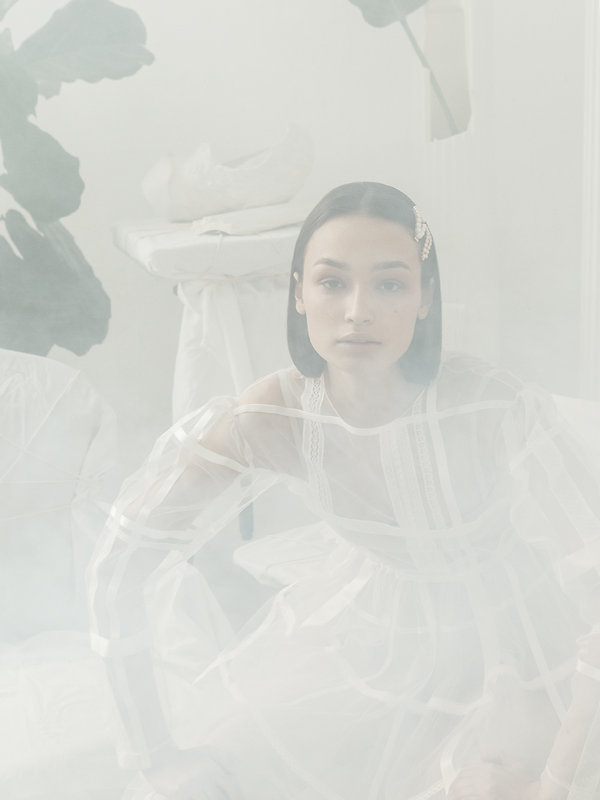 Haunted editorial by Tatiana Kurnosova (