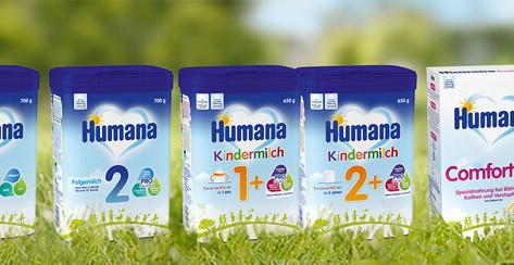 Humana - Milchnahrung oder Beikost