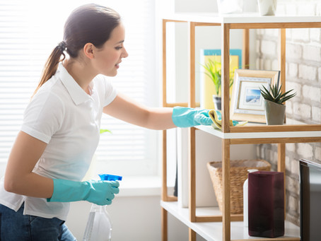 Everything You Should Expect From Your First House Cleaning Appointment