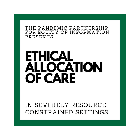 Ethical Allocation of Care