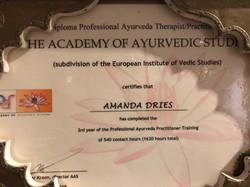 academy certificate