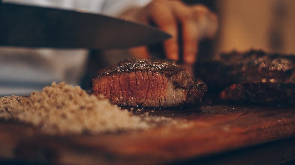 Barbeque-grillen-Fleisch-Manufaktur-Design-Party-Abend-Familie
