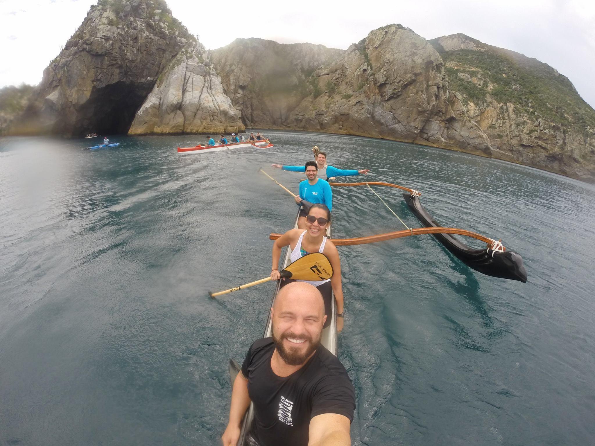 Remada longa em Cabo Frio