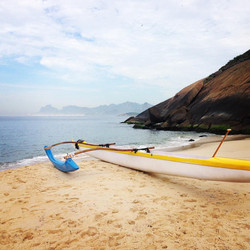 praia do sossego canoa havaiana rj