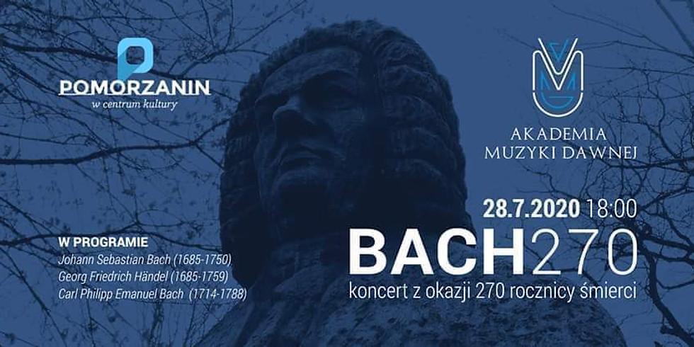 Koncert muzyki dawnej: Bach 270
