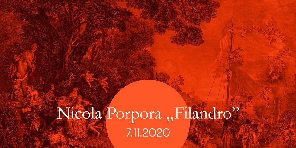 """BSB2020: Nicola Porpora """"Filandro"""""""