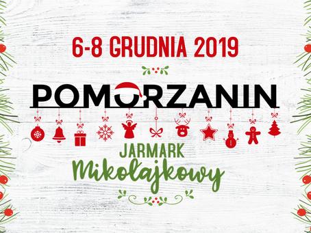 Jarmark Mikołajkowy 6-8.12.2019