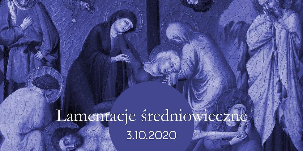 BSB2020: Lamentacje średniowieczne