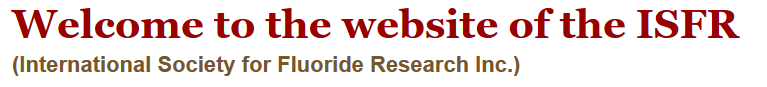 Intnl Soc. Research on Fluoride