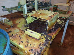 Corrosion caused by fluoride