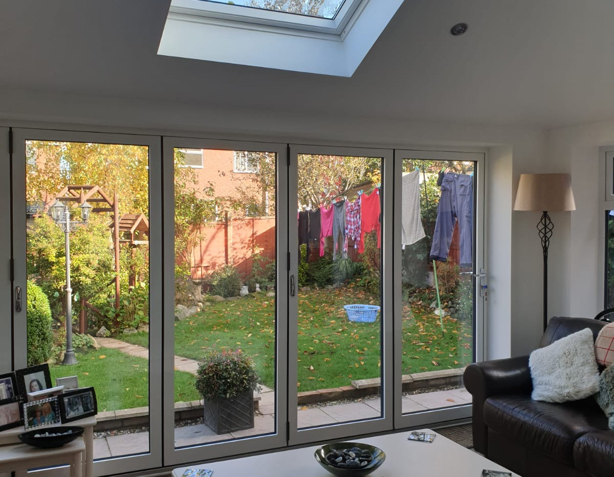 Tiled Conservatory roof internal