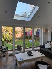 conservatory tiled roof internals