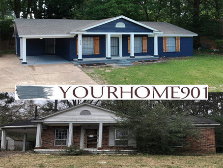 Memphis Turnkey: Transformation of 1966 Single Family House