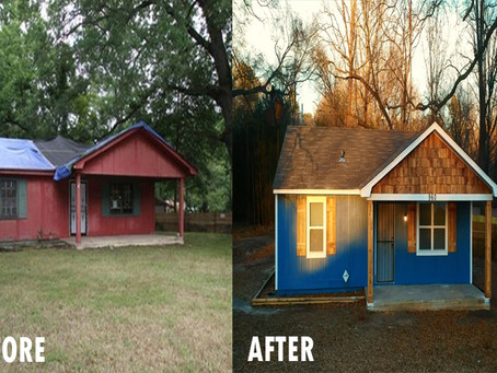 Amazing House Transformation in Memphis, TN