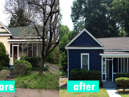 Memphis Turnkey: Before and After 1940 Home